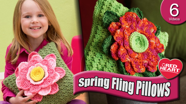 Spring Fling Pillow Challenge