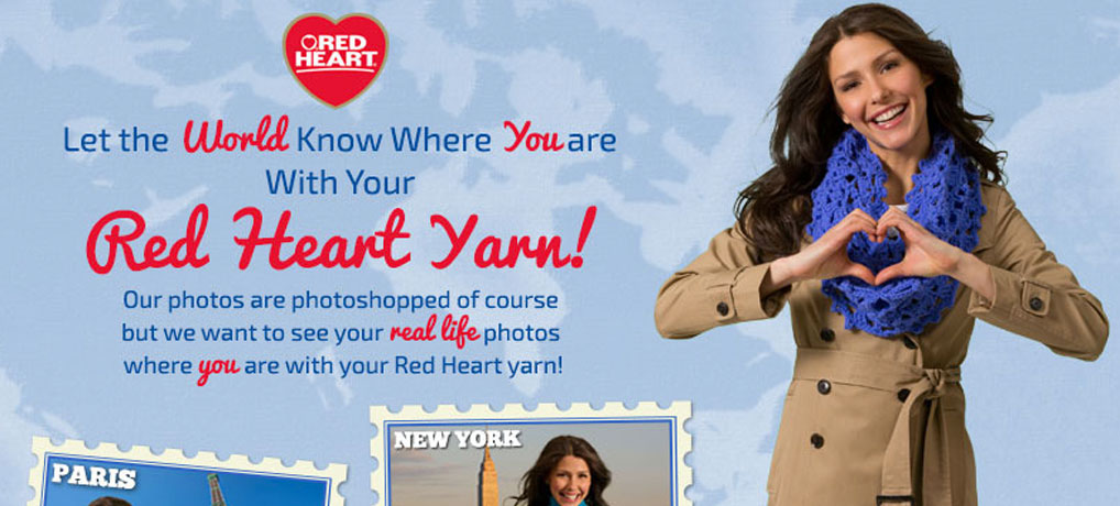 Photo Contest with Red Heart