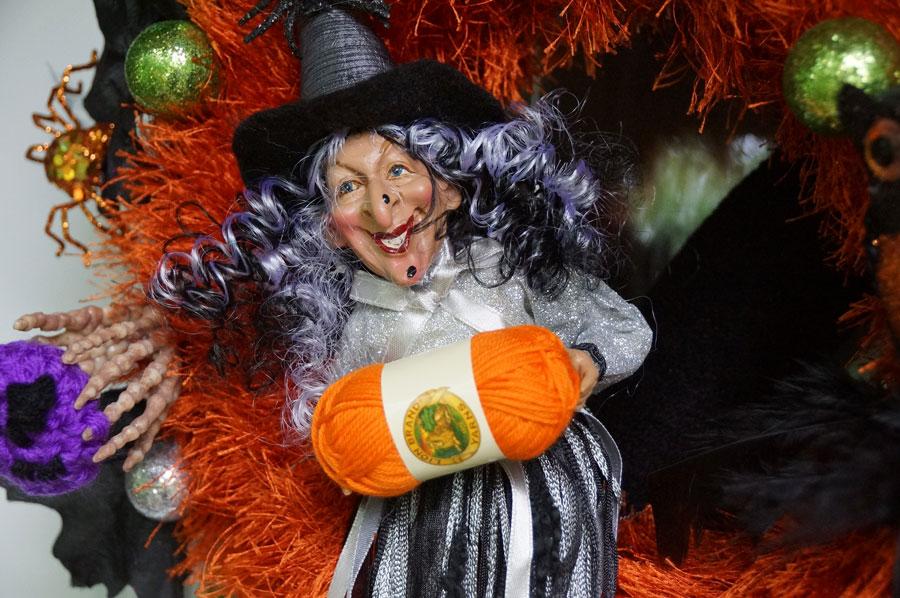 Grim Challenge Wreath Witch