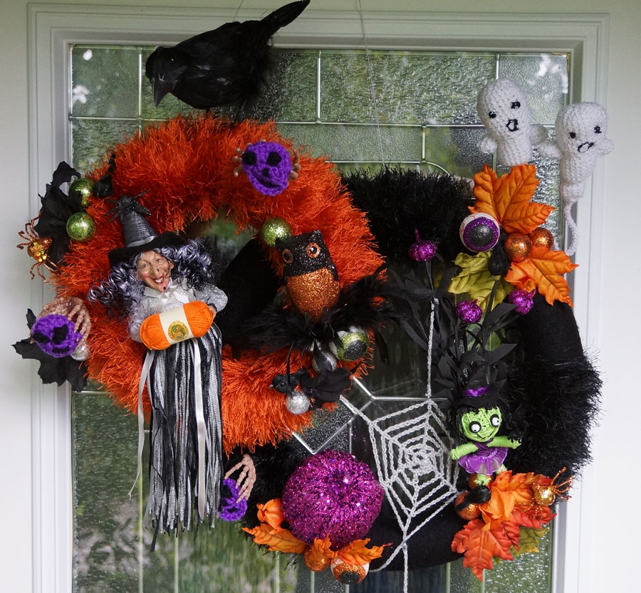 It s looking pretty grim crochet challenges - Decoration halloween a fabriquer ...