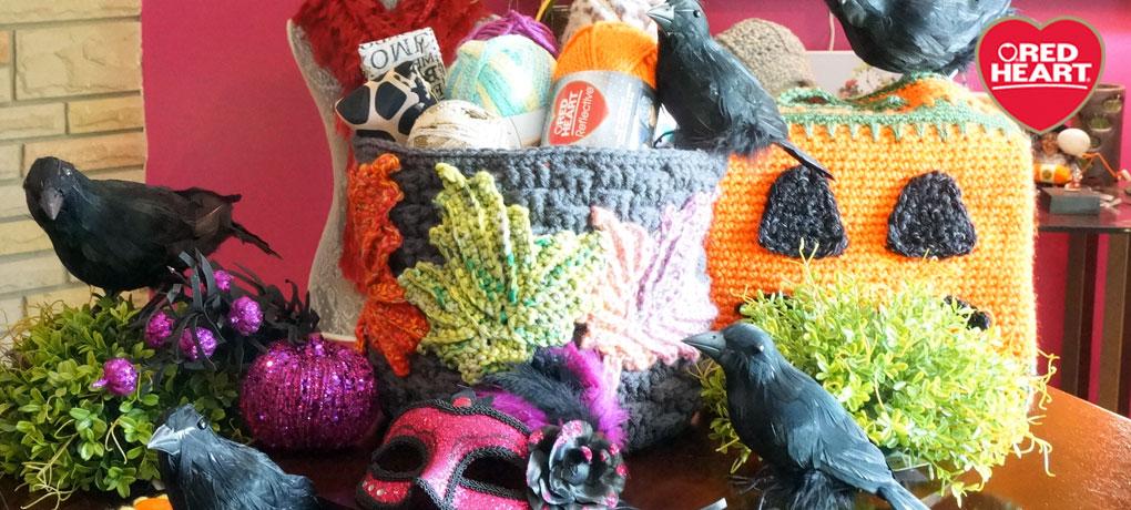 Crochet Basket Weave Container Challenge