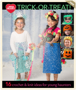 Free Costume Patterns eBook by Red Heart