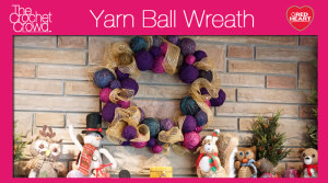 Yarn Ball Wreath Challenge