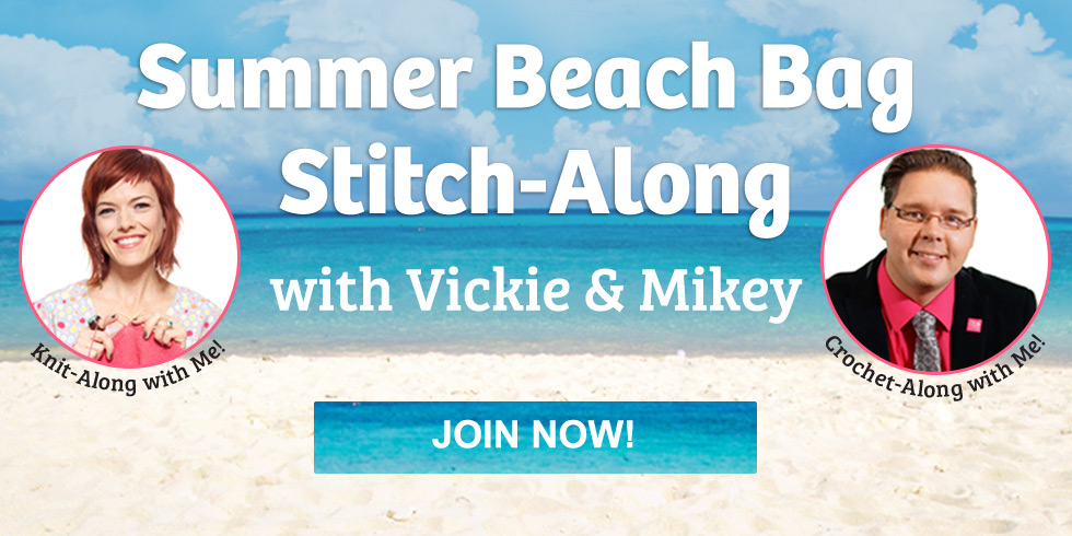 Crochet Summer Beach Bag Stitch-Along