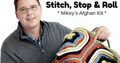 Stitch, Stop & Roll Crochet Challenge