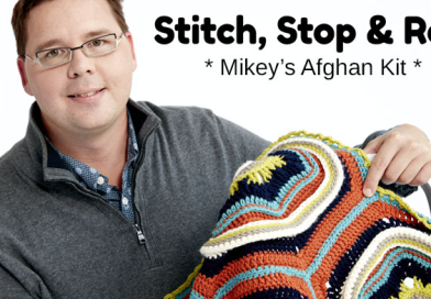 Stitch, Stop & Roll Crochet Afghan Challenge